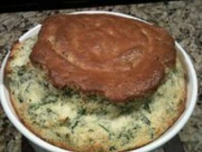 Recipe Spinach and cheddar souffle by ina garten