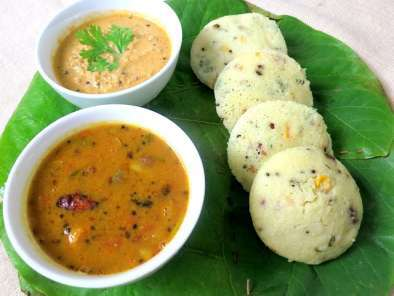 Recipe Corn rava idli