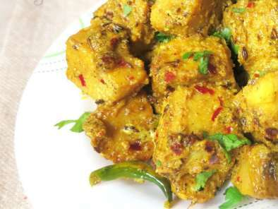 Recipe Suran ki subzi /yam curry