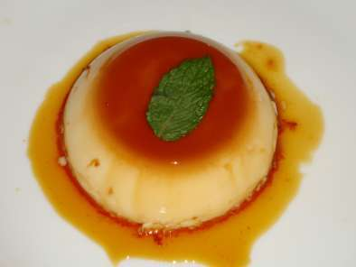 Recipe Baked caramel custard (pudding