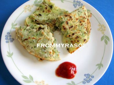 Recipe Cucumber ka chilla (cucumber pancake)