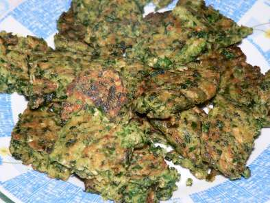 Recipe Spinach patties