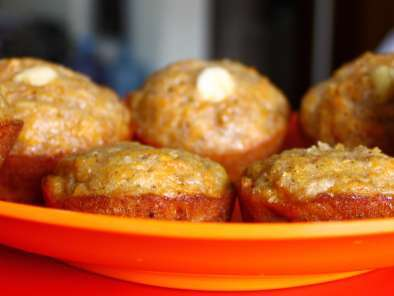 Recipe Carrot-apple muffins