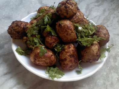 Recipe Baked baby potato masala
