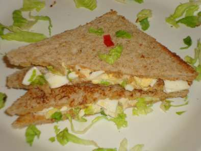 Recipe Egg salad sandwich
