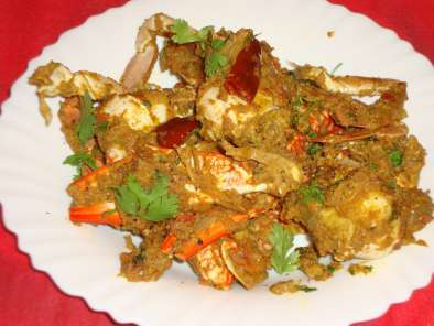 Recipe Chettinad crab masala / chettinad nandu masala