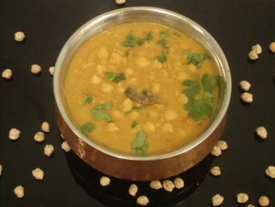 Recipe Channa / chickpeas kurma