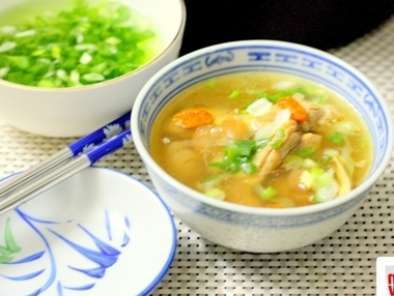 Recipe Chinese herbal chicken soup