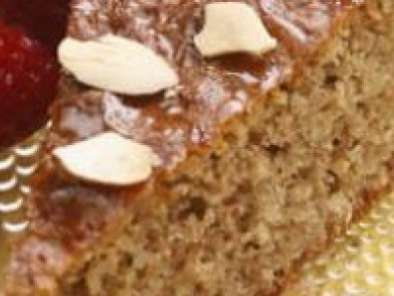 Recipe Flourless honey almond cake without eggs