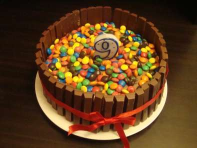 Recipe Kit kat cake
