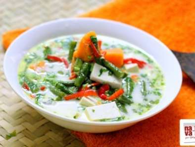 Serai sayur lodeh (coconut vegetable stew)