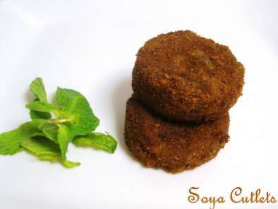 Recipe Soya chunks cutlets / meal maker cutlets