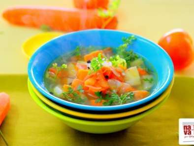 Recipe Potato carrot vegetable soup