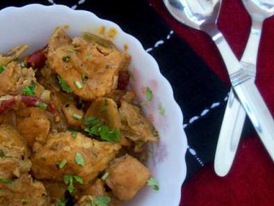 Recipe Chicken in cream and yogurt