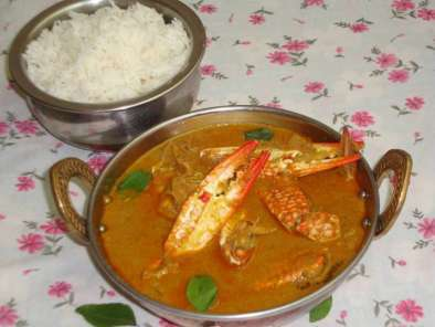 Recipe Crab curry / nandu kulambu / south indian crab curry