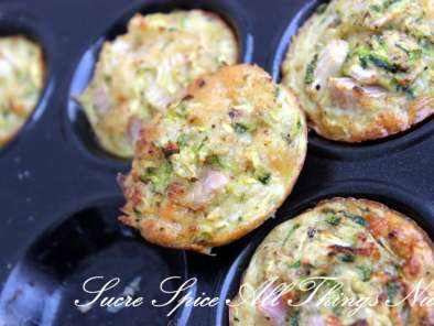 Recipe Zucchini cheese bites