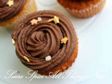 Recipe Orange and chocolate cupcakes