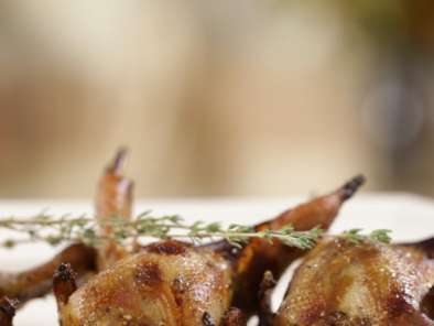 Recipe Moroccan style quails with honey