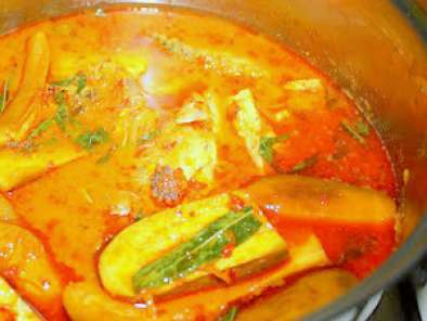 Recipe Assam curry fish