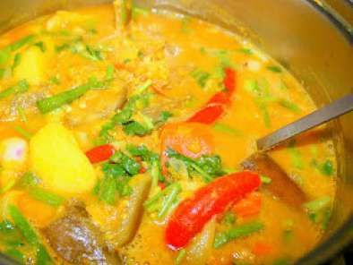 Recipe Dalca (dhal mutton curry)