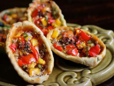 Recipe Tomato and pepper tartlet