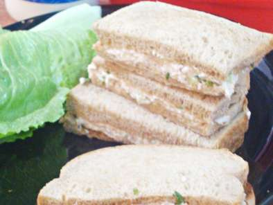 Recipe Chicken & mayonnaise sandwich / chicken mayo sandwich