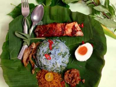 Recipe Nasi kerabu