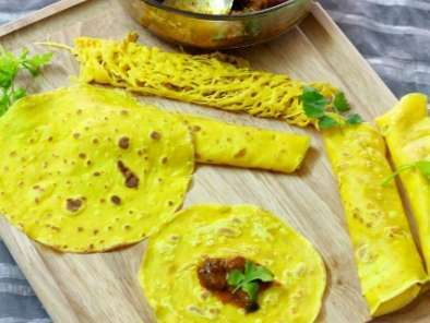 Recipe Roti jala with mutton chukka