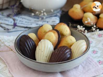 Recipe Madeleines with chocolate - video recipe !