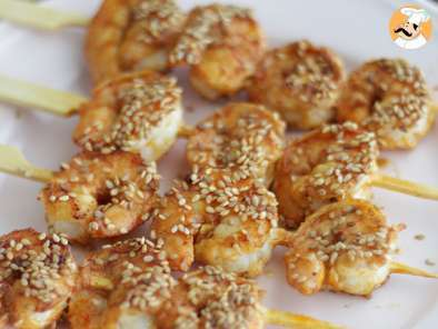 Recipe Chinese new-year shrimp - video recipe !