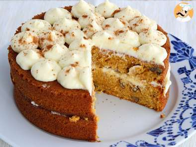 Recipe Carrot cake with nuts - video recipe !