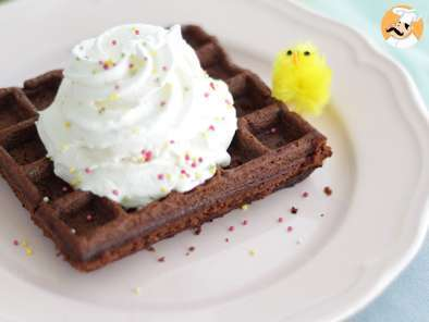 Recipe Brownie waffles - video recipe !
