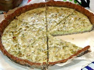 Recipe Leek pie (dairy free)