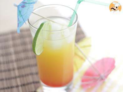 Recipe Tequila sunrise - video recipe !