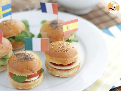 Recipe Olympics sliders - video recipe !