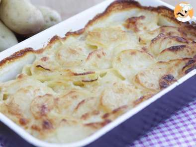 Recipe Gratin dauphinois, french potato gratin - video recipe !