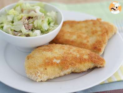 Recipe Cordon bleu, a french classic - video recipe !