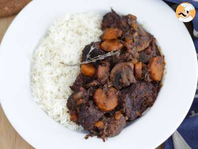 Recipe Beef bourguignon - video recipe !