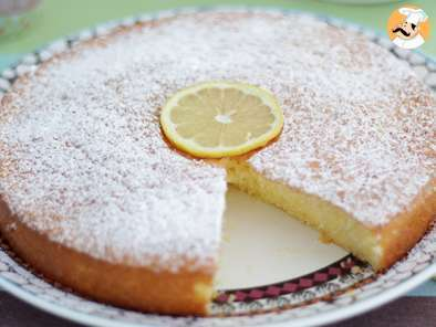 Recipe Lemon sponge cake - video recipe !