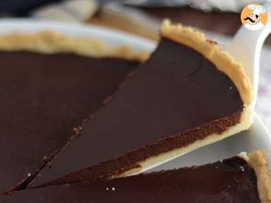 Recipe Chocolate tart - video recipe !
