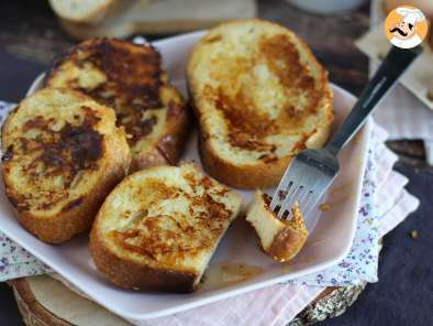 Recipe French toast, the real recipe - video recipe !