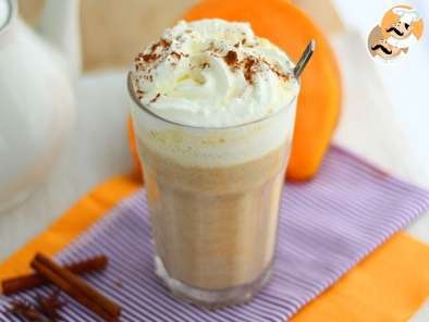 Recipe Pumpkin spice latte - video recipe !