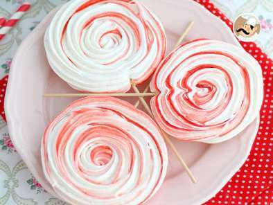 Recipe Meringue lollipops - video recipe !