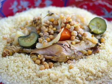 Recipe Moroccan couscous - video recipe !