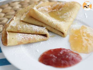 Recipe Gluten and dairy free crepes - video recipe!