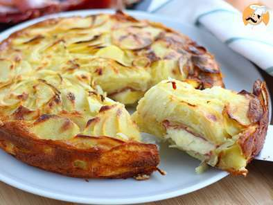 Recipe Raclette and potatoes cake - video recipe!