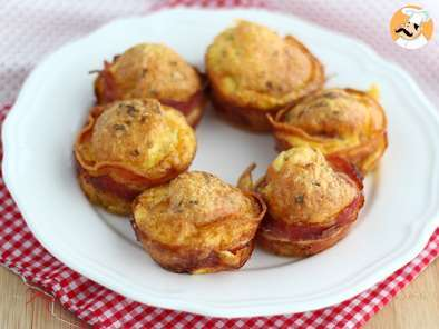 Recipe Bacon muffins - video recipe!