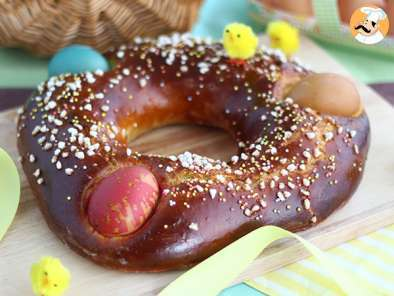 Recipe Mouna, an easter brioche - video recipe!