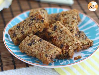 Recipe Granola energetic bars - video recipe!