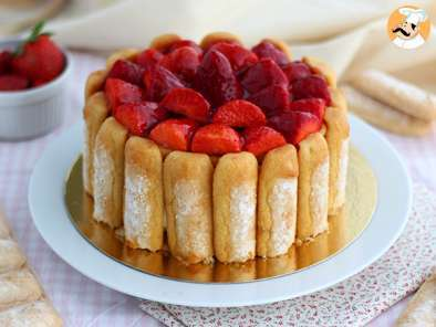 Recipe Strawberry charlotte